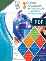Información III Curso de Actualización en Reumatología Para Médicos No Especialistas.