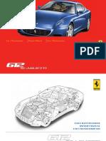 Ferrari 612 Owner Maintenance Manual