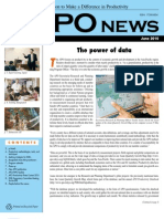Asian Productivity Organization Monthly Newsletter June 2010