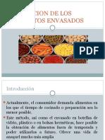 A.alteracion de Alimentos Envasados
