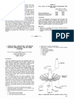A Deployable Dielectric Parabolic Antenna Reflector and RF Feed Support