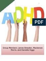 Training Manual ADHD 1