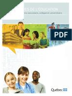 Statistiques Education 2012