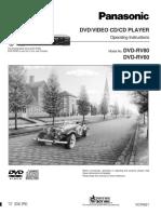Panasonic DVD RV60 80 Eng