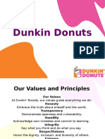 Dunkin Donuts FCP