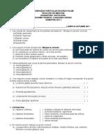 II Examen Teorico 2011-II.