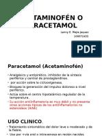 Acetaminofén o Paracetamol