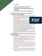 Ethics IV Final Exam Outline
