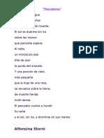 Pescadores - Poema de Alfonsina Storni