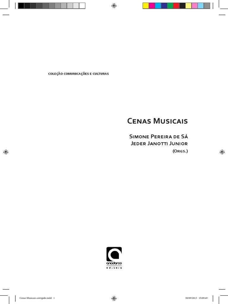 25ed960b8 Janotti y Pereira de Sa Cenas Musicais Livro 2013