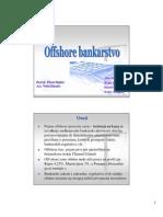 Offshore Bankarstvo