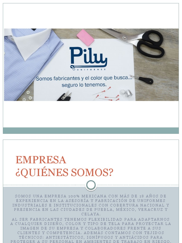 Pilu Presentación 697cf20b7f464