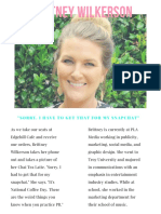 Mary Katelyn Price - PRL Interview Project