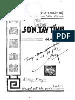 (1941) Sơn Tây Tỉnh Địa Chí - Phạm Xuân Độ