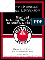 Industrial Hydraulic Mechanic Certification
