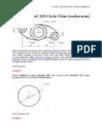 Tutorial AutoCAD Circle
