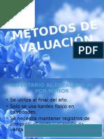 Métodos de Valuación
