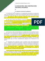 Paviglianiti - El Derecho a La Educación