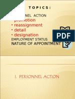 Personnel Action