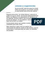 Conclusiones y Sugerencias Leyes de Kirchoff