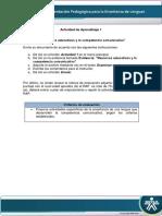 Instrucciones Evidencia Recursos Educativos y La Competencia Comunicativa