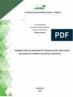 Manual de Elaboração TCC Formato Artigo