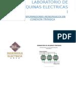 transformadores monofasicos en conexion trifasica