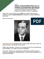 Premio+Nobel+1931
