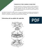 Plato Autocentrador de Tres Garras