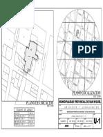 Ubicacion y Localizacion - Lámina a3