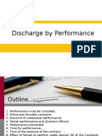 Discharge by Performance 2