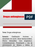 Drogas antianginosas