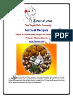 Penmai's Festival Recipes 2014 PDF