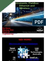 Los Instrumentos Inteligentes Bus de Campo Ethernet y Wireless