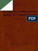 Flexiunea Nominală Internă in Limba Romana
