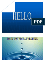 Microsoft Power Point - Rain Water Harvesting [16 Nov 2008]