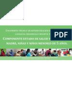 COMPONENTE ESTADO DE SALUD Y NUTRICIÓN DE MADRE, NIÑAS Y NIÑOS MENORES DE 5 AÑOS.pdf