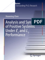 Analysis and Synthesis of Positive Systems Under ℓ1 and L1 Performance (Chen, Xiaoming)