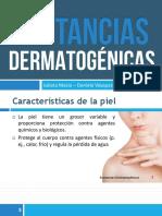 Sustancias Dermatogenicas - Salud Ocupacional