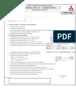 Job Sheet Upk Paket 2 Mitsubishi