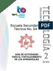 DIDÁCTICA DEL FORTALICIMIENTO AL ALUMNO 2°  2015-2016
