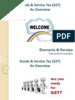 Goods Service Tax GST