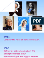 Role of Women in Religion