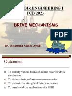 Drive Mechanisms