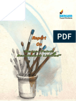 Report on Berger Paints Bangladesh Limited