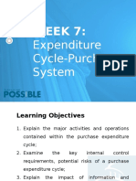 Lecture Slides 7 Expenditure Cycle-Purchase System