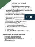 SP Checklist.doc