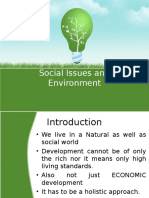 Unit IV-Social Issues and Environment