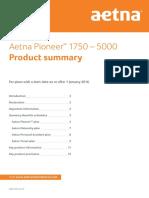 Aetna Pioneer Product Summary