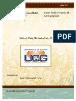 Fluid Mechanics Lab-II (Report)